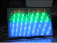 32*32 RGB LED Audio Digital Level Meter display Spectrum Analyzer for  home amplifer