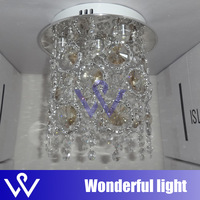 hot sale Free shipping 4W LED K9 CRYSTALL CEILING lamp for Hallway balcony-M1076