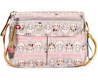 Harajuku doll shoulder bag messenger bag casual trend of the female bags grey cat