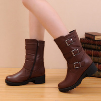 2013 winter fashion female platform cotton martin snow boots, free shipping