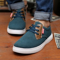 Male fashion skateboarding shoes suede breathable shoes fashion trend scrub sport shoes male board shoes