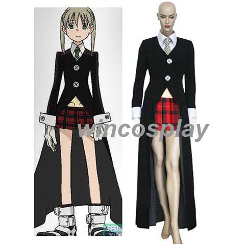 Soul Eater -- Maka Albarn Cosplay Costume .-- Custom Made(China (Mainland))