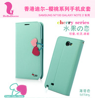 For samsung   cherry holsteins n7100 holsteins n7102 protective case n7108 n719 set