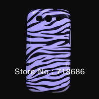 For galaxy s3 cases zebra stripe cell phone cases covers to samsung i9300 9300 free shipping