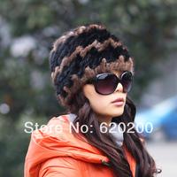 Free shipping Women's mink hair hat 2013 fight mink fashion thermal winter fur hat