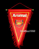 Soccer Arsenal Football club 28x38cm High quality Triangle flags hanging pennant