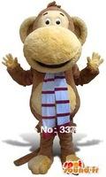 Customized Big mouth monkey Mascot Costume, free shipping