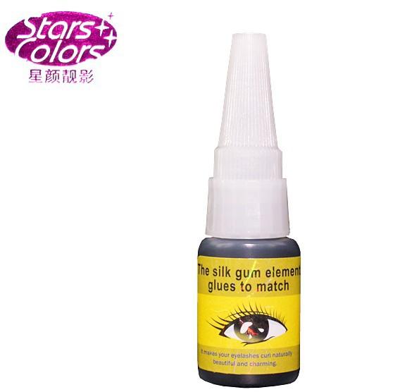 C008 Stars colors Eyelash Adhesive/Yellow Mark Eyelash Extension/Eyelash Glue(1pc)(China (Mainland))