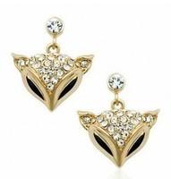 B123 fashion high water brick fox earrings   !