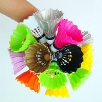 Free shipping(20pcs/lot)fashional key colorful badminton decorations badminton chain badminton pendant Accessories Keychain