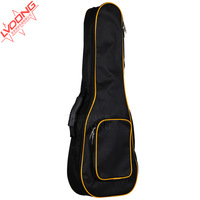 """1pc High quality Ukulele guitar bag 21""""/23""""/24""""/26"""" small guitar bag  thicken package w/ cotton inside portable Ukulele backpack"""