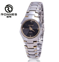 Ronnes violin tungsten steel table lovers watch women's tungsten steel watches mens watch ladies watch waterproof quartz watch