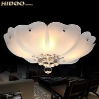 Modern brief crystal led ceiling light lighting fitting warm bedroom lights fashion lighting x27