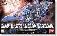 Free shipping HG 1/144 Gundam Bandai model Gundam Astray Blue Frame great gift for kid