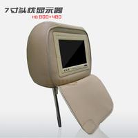 Tape zipper 7 headrest car monitor hd headrest tv circumscribing navigation dvd tape zipper