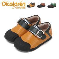 2014 autumn super-fibre leather casual plaid line male child single shoes