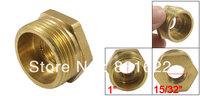 Hydraulic 26 x 12mm Brass Hex Bushing Connector Adapter