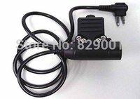 Free Shipping Element Z-Tactical Airsoft Headset U94 PTT f/ Motorola 2 Pin Radio Tactical Headset