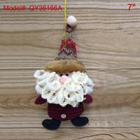 "7"" Christmas Ornaments Xmas Tree Decoration Santa Gifts Decor Dolls-Santa Calus"