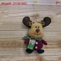 "7"" Christmas Ornaments Xmas Tree Decoration Santa Gifts Decor Puppets-Reindeer"