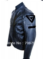 DNS  New 2013 Pig skin leather motorcycle clothing jacket moto Wear