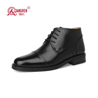 Free Shipping 3515 Men Cotton-padded Shoes GenuineLleather Wool Shoes Connector Shoes 9s-09c39-44