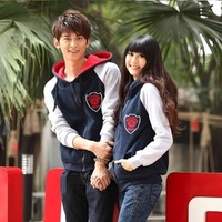 Free shipping 2013 autumn and winter plus size sweatshirt outerwear cardigan hooded fleece thickening casual long-sleeve