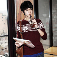 Fashion Autumn And Winter Fashion Male Outerwear Vintage Onta Sweater Free Shipping