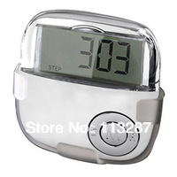 free shipping multifunction pedometer with removable Belt clip holder