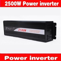 2500W /5KVA PURE SINE WAVE IN2VERTER (24V to 120VAC 2500W    off  inverter