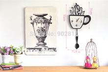 popular clock wall art