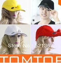 popular cooling fan hat