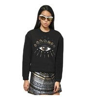2013 Autumn Winter Hot Women's Hoody Laurinda Fashion K-ENZO Eyes embroidered thick big large size NEW long sleeve COAT TOPS