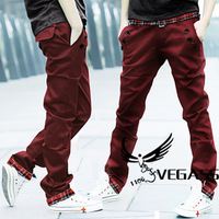 Korean men's pants, casual pants men cultivating 2013 new men casual pants slacks straight trousers