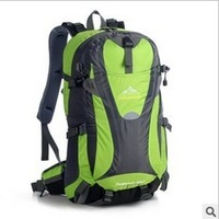6 colors Waterproof Oxford Outdoor Climbing Hiking camping backpacks for men&women Multifunctional High quality 45L Freeshipping