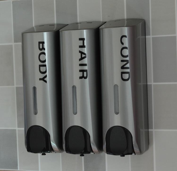 Seifenspender Dusche Wandmontage : Wall Mounted Shower Soap Shampoo Dispenser