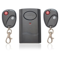 Wireless Dual Double Remote Control Vibration Vibrator Security Alarm for Motorbike Bike Door Window