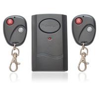 Wireless Dual Double Remote Control Vibration Vibrator Security Alarm for Motorbike Bike Door Window