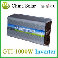 Grid Tied Inverter 1000W ,Solar Inverter AC Outputer Power 1000W for solar panel