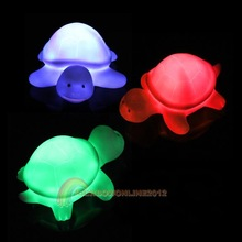 R1 New Turtle LED 7 Colours Night light Lamp Party Christmas Decoration Colorful