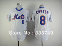 Free Shipping Cheap New York Mets #8 Gary Carter White Baseball Jerseys,Mens Baseball Shirt.Mix Order