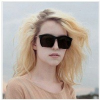 2013 Hot  Women's Fashion Sunglass Grey Ant Half Frame Sunglasses Unisex Sun Glasses 6colors