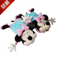 Minnie cartoon car headrest neck pillow car pillow kaozhen supplies a pair of