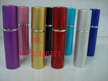 100Pcs Gift set mini size perfume empty bottle refillable spray pump travel Easy Refill Perfume Rapid Atomiser 5ML freeshipping