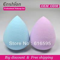 Enshion Pro Beauty Flawless Soft  blender sponge powder makeup cosmetics companies with Hydrophilic polyurethane material