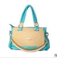 Free Shipping 2013 New Hot Popular Chains Korean Handbag Fashion PU Leather Designers Brand Women's Shoulder bag Wholesale