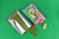 FREE SHIPPING,8*12cm,visible Vacuum Aluminum Foil Bag,plastic Food Bag,snack bag