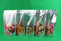 17*23+4CM,Aluminizing Foil Zipper Plastic bag,Ziplock Plastic bag,Aluminium Foil Plastic Bag