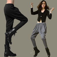 free shipping Harem pants women 2013 autumn loose mm plus size female trousers casual trousers