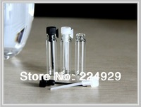 Fedex Free shipping,1ml mini glass perfume vial, perfume sample vial, tester bottle
